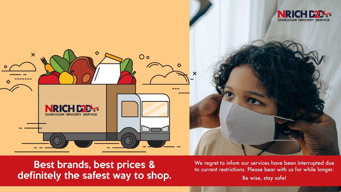 NRICH Door2Door Grocery Service